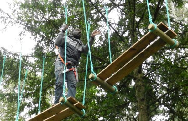 Adventure Park at Tours (France) : Gadawi Park