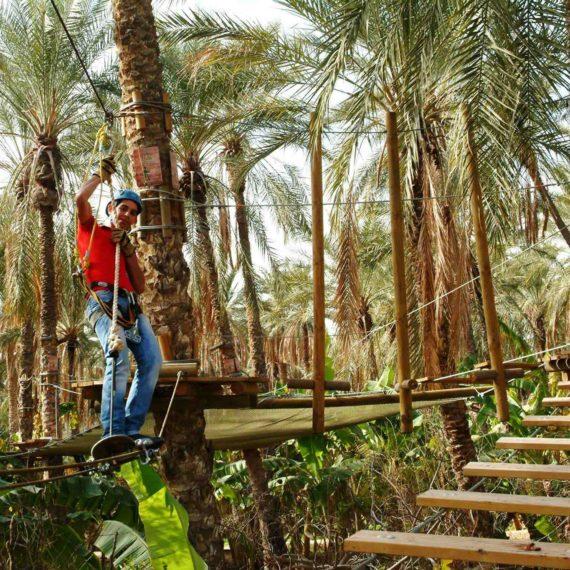 Adventure Park at Sahara Lounge (Tunisia)