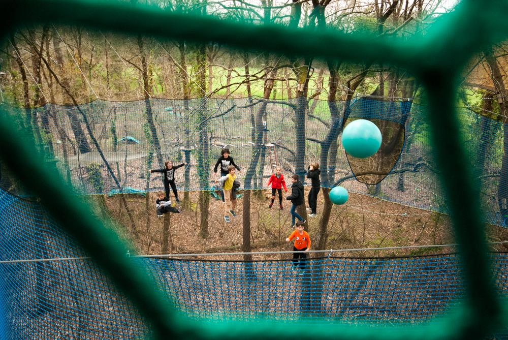 TrampÔforest salle ballons