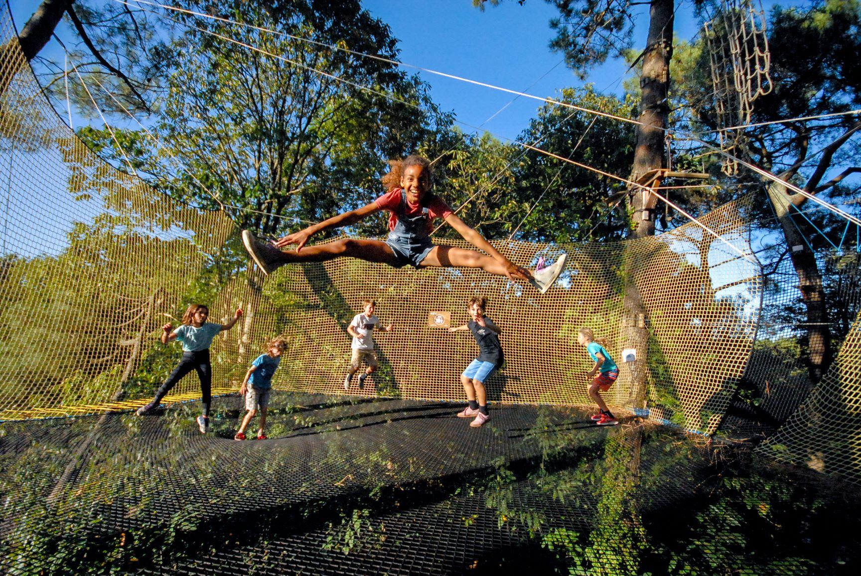 TrampÔforest trampoline