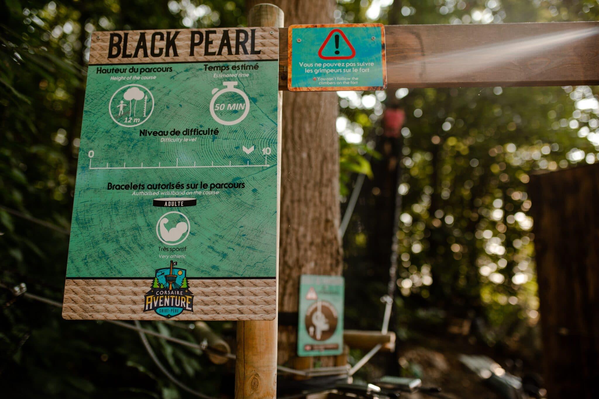Pancarte Début Black